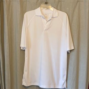 Other - HPI Direct Men's White Polo Shirt Size Small
